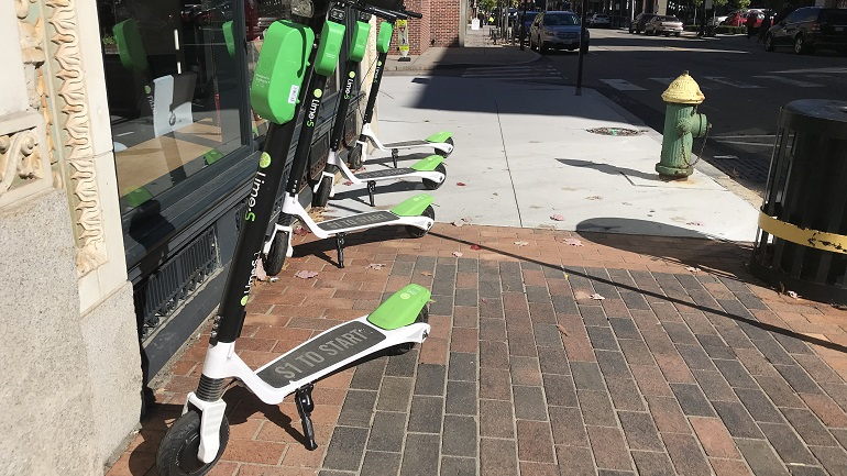 lime scooters providence