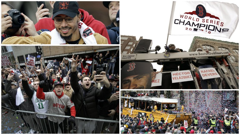 Red Sox Nation revels in World Series win
