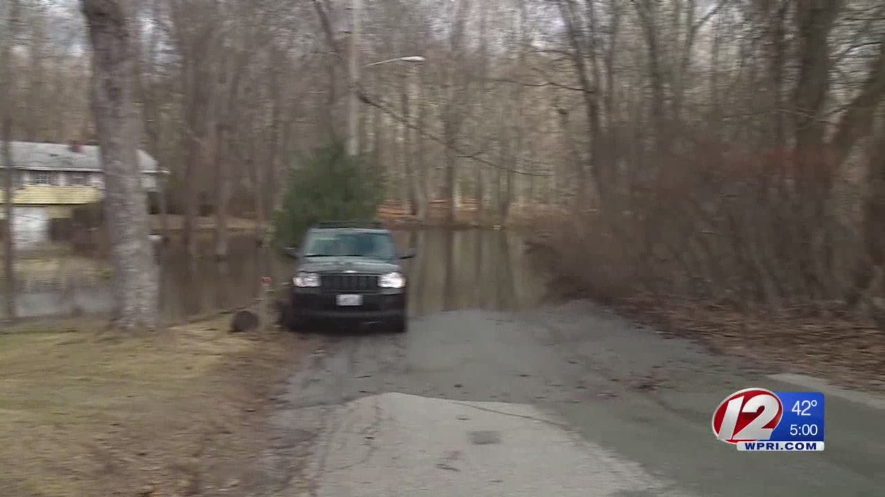 Feds declare flooded Johnston neighborhood disaster area