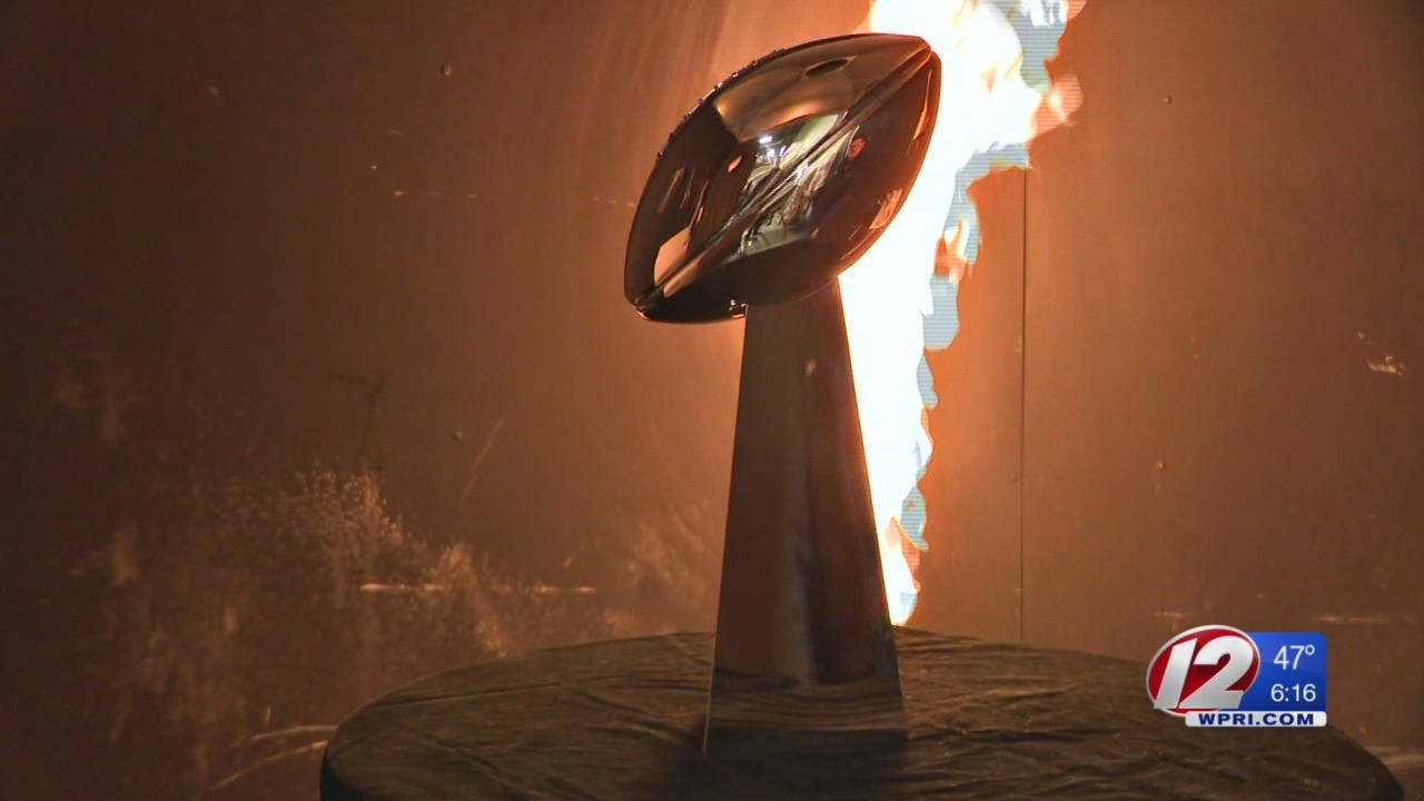 Iconic Super Bowl trophy made in Cumberland
