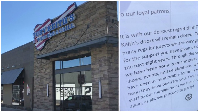 Patriot Place Restaurant Abruptly Closes