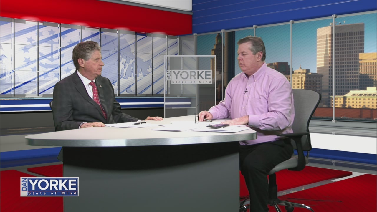 1/30: Lt. Governor Dan McKee talks Newport gas situation on State of Mind