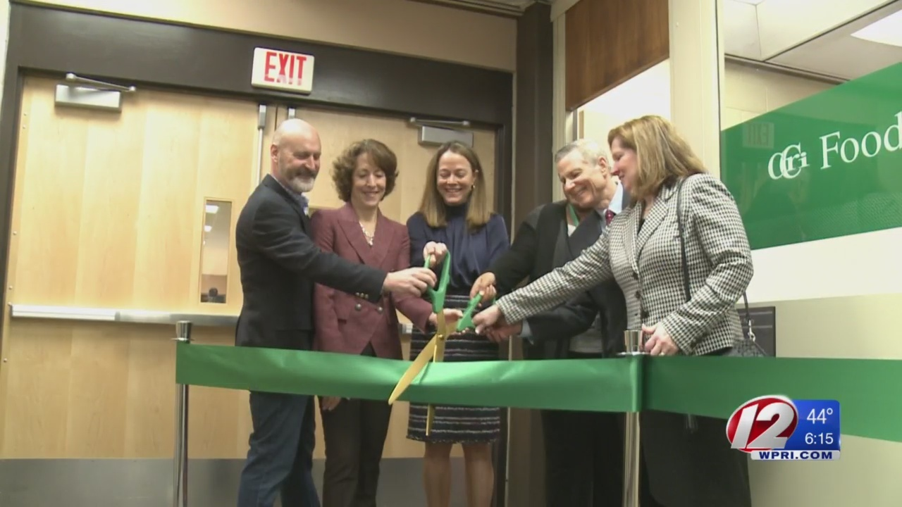 CCRI opens food pantry, aims to keep students in school