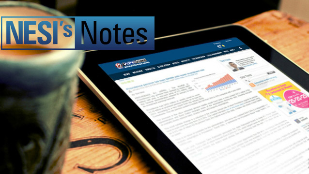 Nesi's Notes: March 30