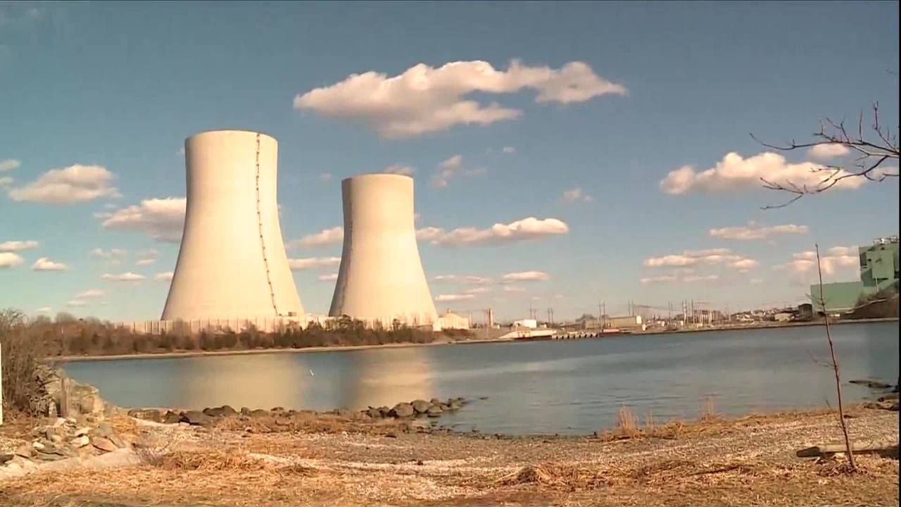Little girl, boy will push button to implode Brayton Point cooling towers