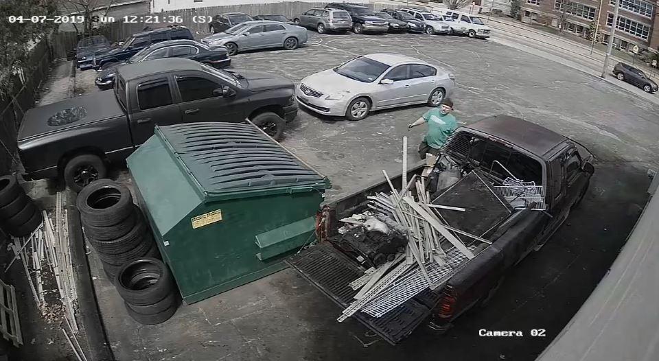 Video Now: Cranston car parts theft
