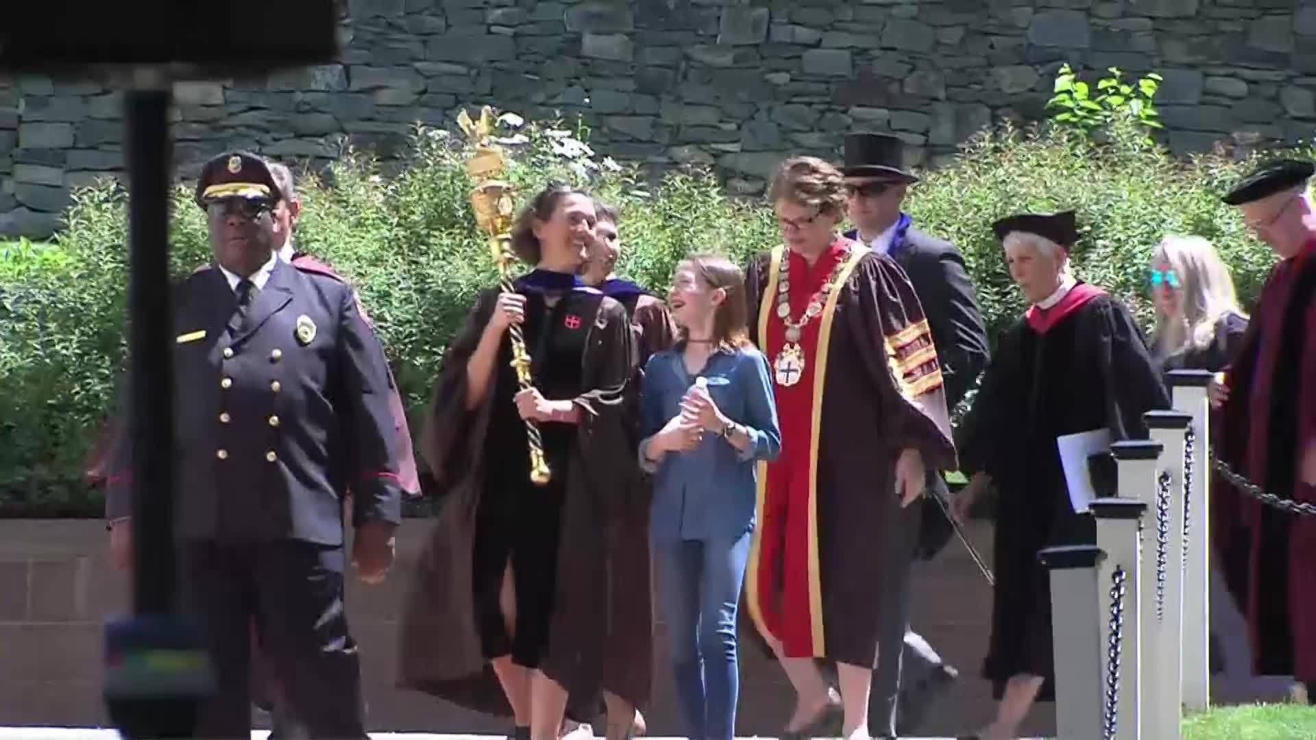 VIDEO NOW: Brown University's 251st Commencement held Sunday