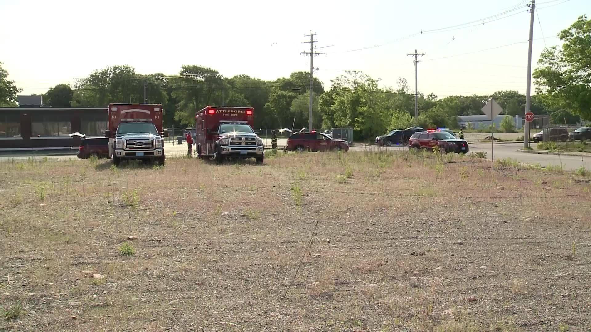 Video Now: Crews respond to hazmat situation in Attleboro