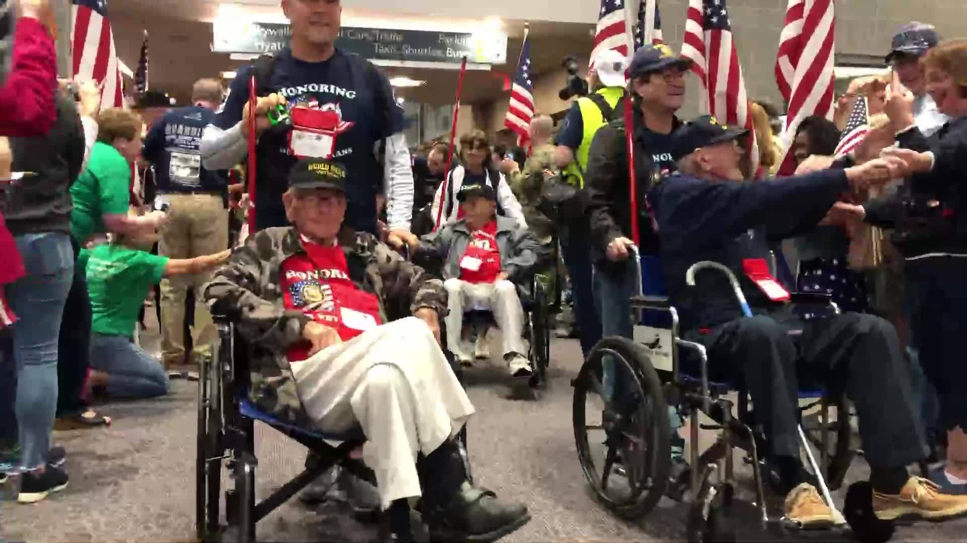 Video Now: Honor Flight