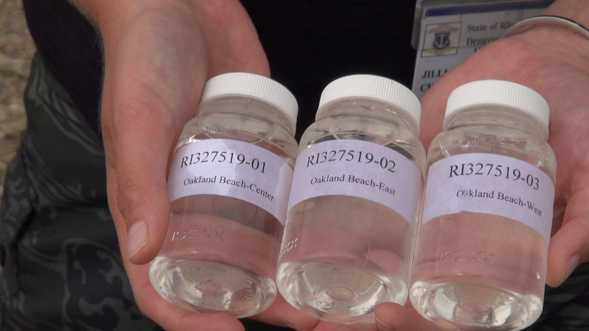 RI Dept. of Health monitors water quality throughout the Ocean State.