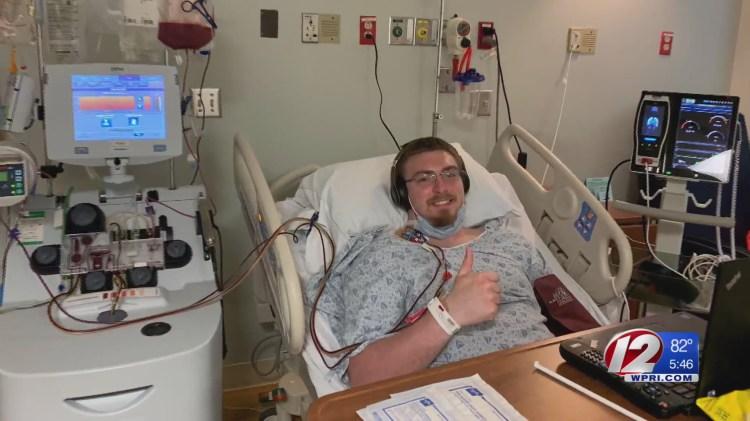 Bryant football player donates stem cells, saves man ...
