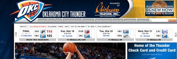 basketball web design ideas