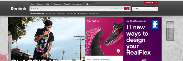 sports web design ideas