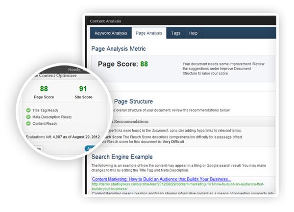 wp-page-site-score