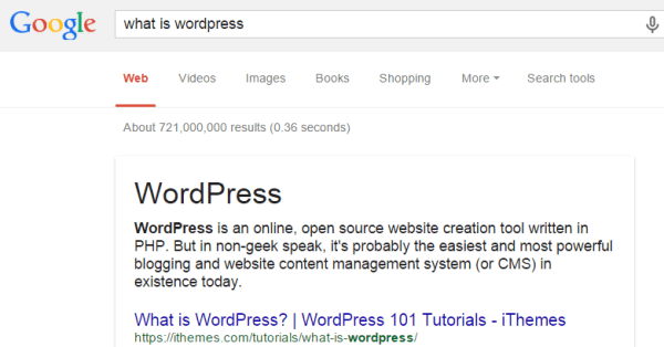 WordPress - build your brand with seo