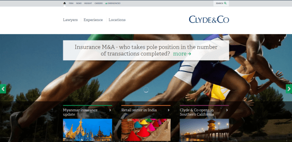 Clyde   Co international law firm