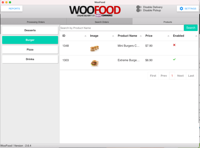 WooFood - Food Ordering (Delivery/Pickup) Plugin for WooCommerce & Automatic Order Printing - 6