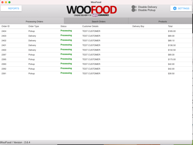 WooFood - Food Ordering (Delivery/Pickup) Plugin for WooCommerce & Automatic Order Printing - 5