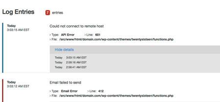 WP Log Viewer Plugin for Debugging WordPress - Digitalworld