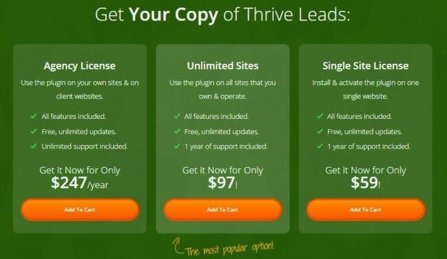 Thrive Leads 4
