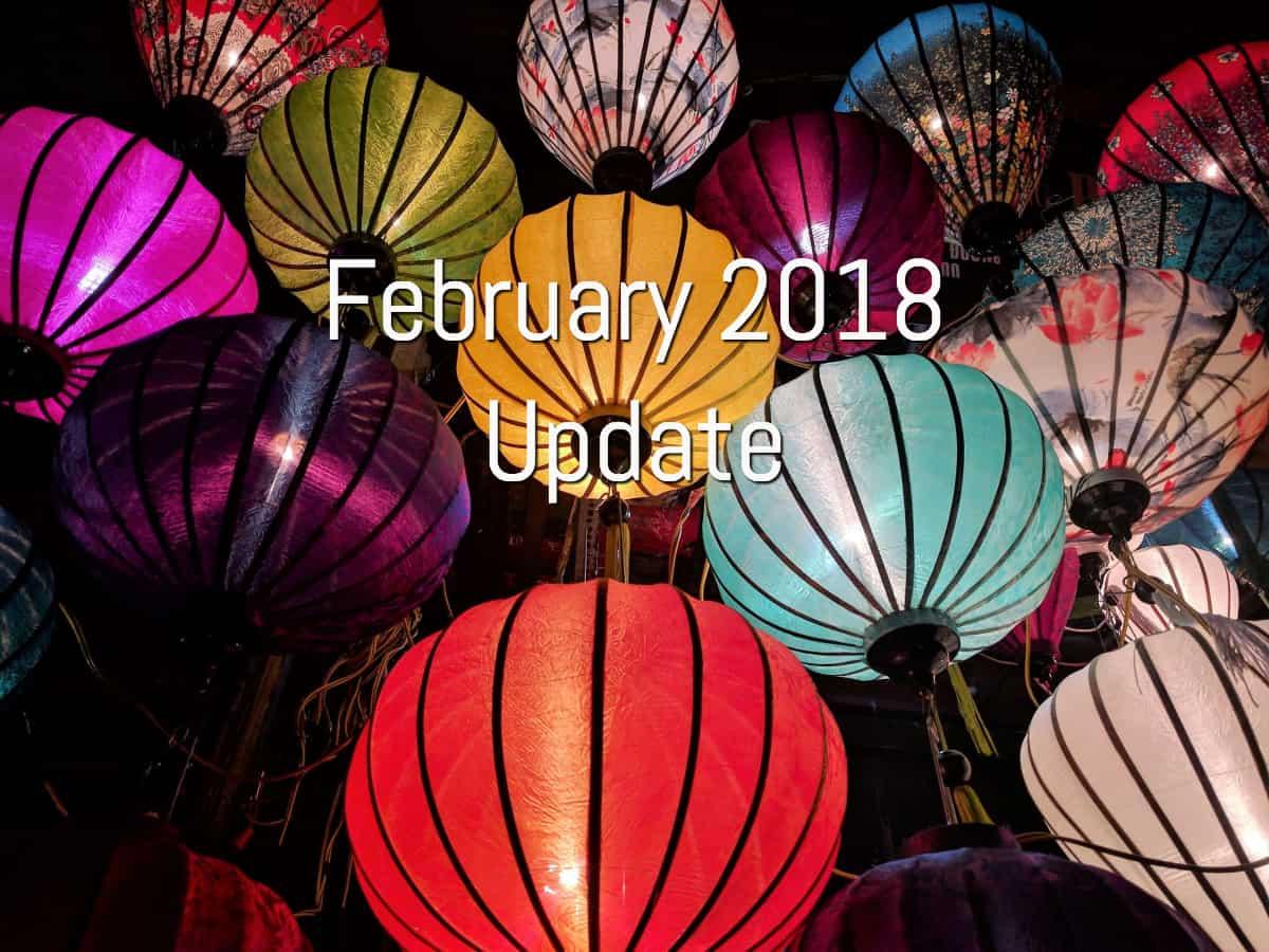 February 2018 Updates