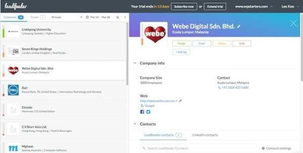 Leadworx Review: Leadworx vs Leadfeeder
