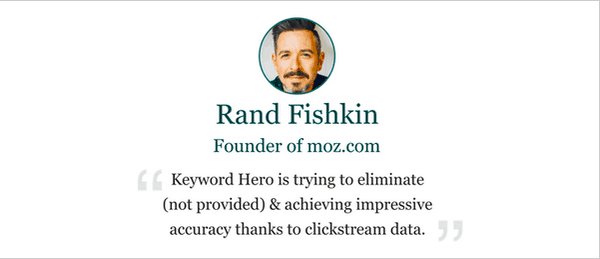 Keyword Hero Review: Rand Fishkin of Moz.com