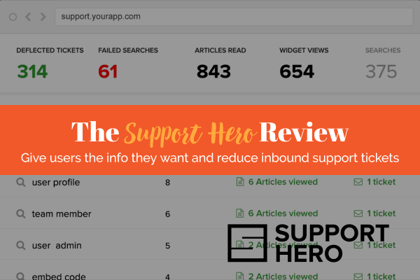 Support Hero Review by WPStarters