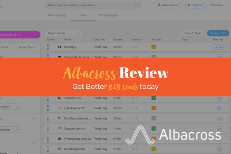 Albacross Review