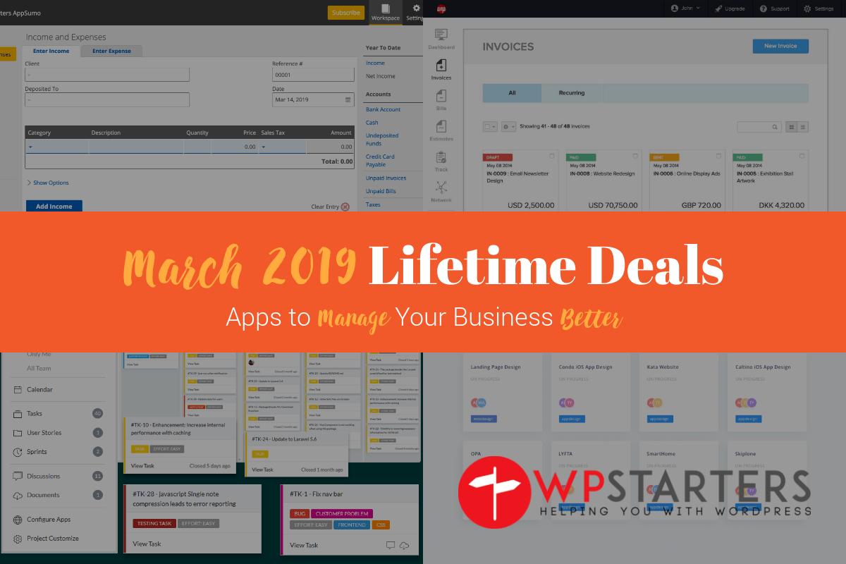 March 2019 Lifetime Deals
