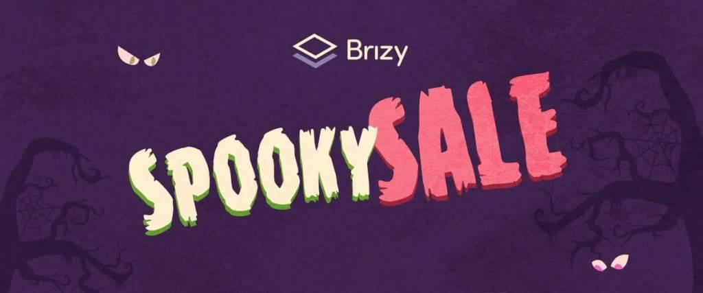 Brizy Halloween Sale