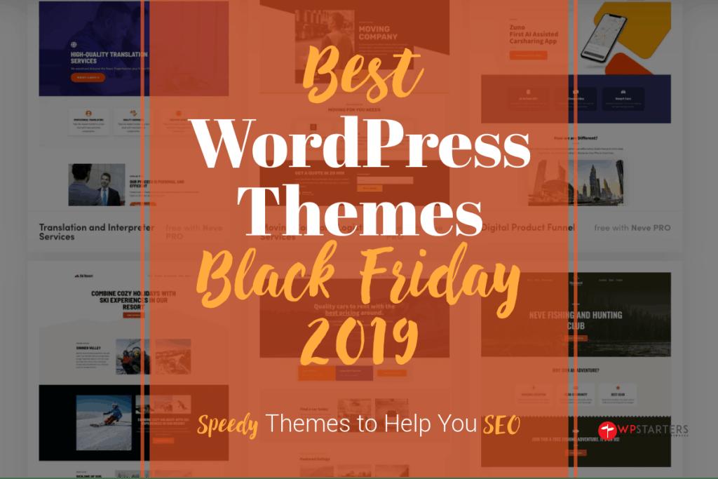 Best WordPress Themes Black Friday Deals 2019
