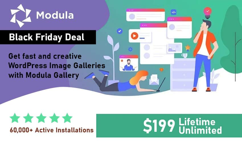 Modula Gallery Black Friday Deal for 2019 is a steal