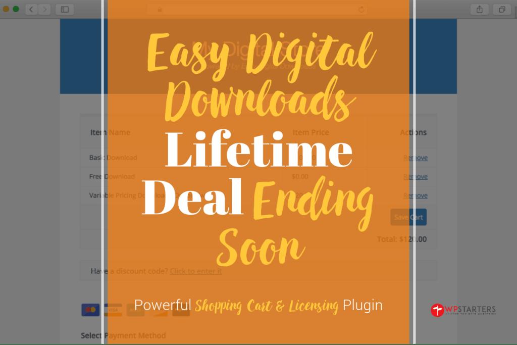 Easy Digital Downloads Lifetime Deal Ending Soon