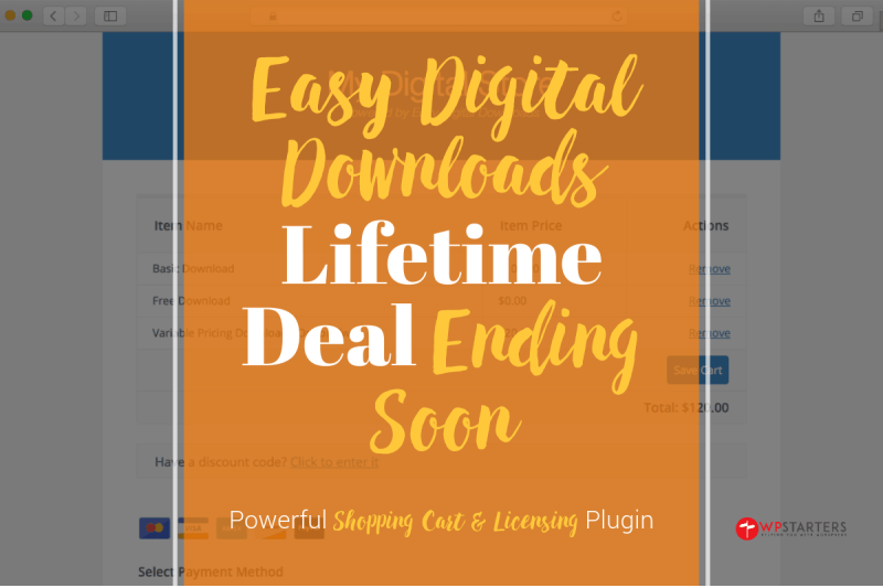 Easy Digital Downloads Lifetime Deal Ending Soon