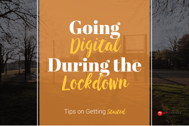 Going digital during the COVID-19 lockdown