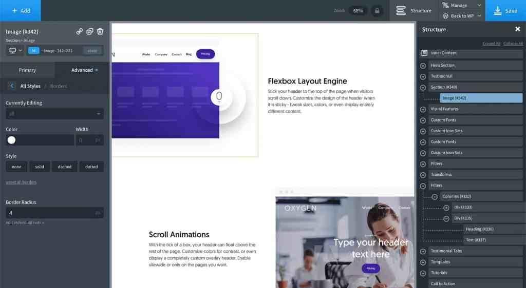 Oxygen Visual Builder for WordPress