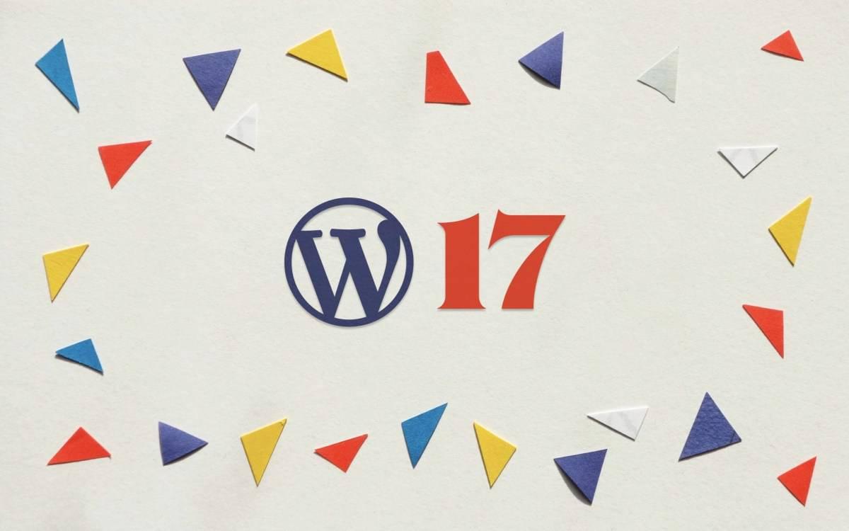 Happy 17th Birthday, WordPress!