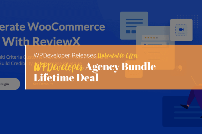 WPDeveloper Agency Developer Lifetime Bundle