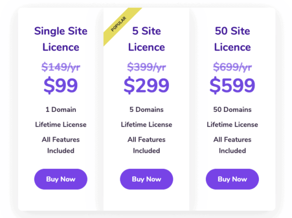 FluentCRM lifetime price