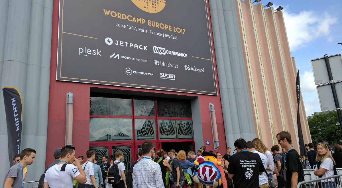 WordCamp Europe Paris 2017 - Entrance