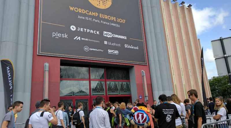 WordCamp Europe Paris 2017 - Entrance