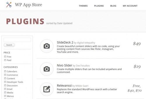 WP App Store Plugins