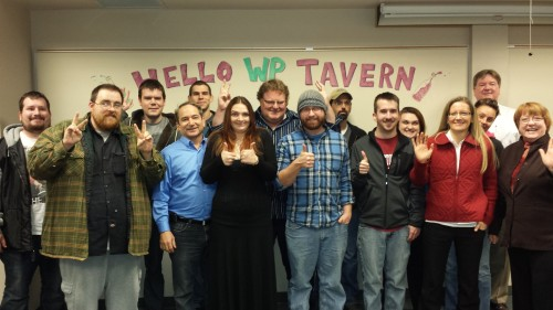 hello wp tavern from clark college wordpress class 2013