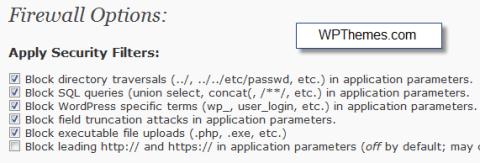 wordpress-firewall