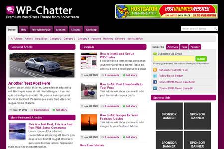 chatter-wordpress-theme