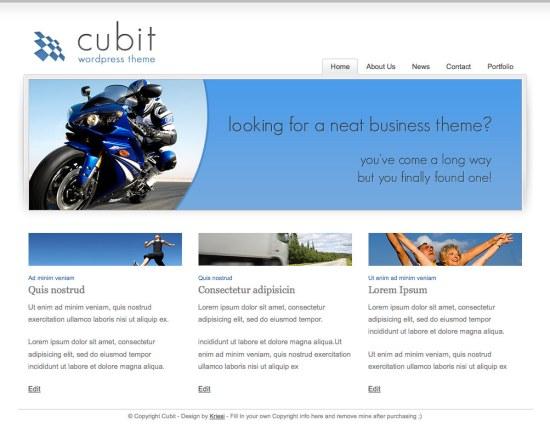cubic-wordpress-theme