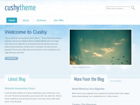 cushy-wordpress-theme