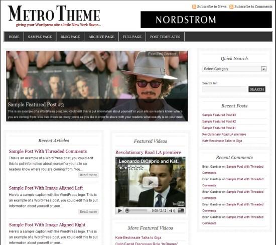 metro-wordpress-theme
