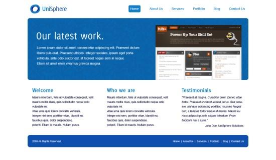 unisphere-wordpress-theme
